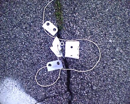 Broken iPod cassette adapter