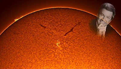 Incredible Sunspot Photo