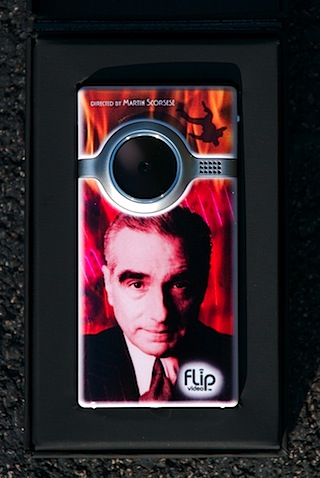 Martin Scorsese Flip Video Camera