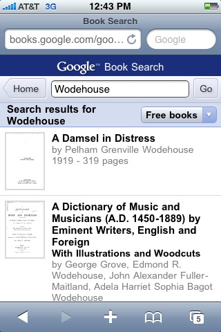pg wodehouse subjects for slots