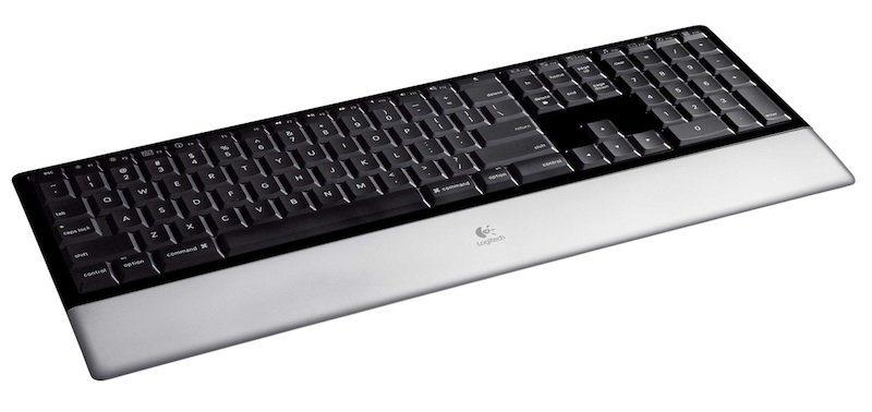 The diNovo Mac keyboard from Logitech: my fave keyboard.
