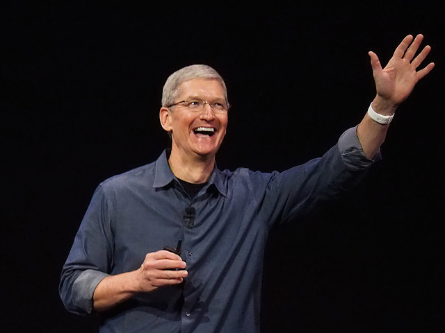 Tim Cook talks to Fast Company