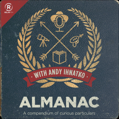 """Almanac"" podcast logo"